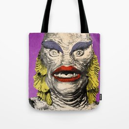 The Gorgeous Gill Man from the Black Lagoon Tote Bag