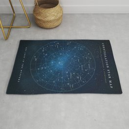 Constellation Star Map Rug