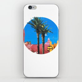 Meat Dream Party Land Series · Meat Desert City Dream Town · Circle iPhone Skin