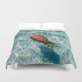 Ah, Summer: Pineapple Duvet Cover