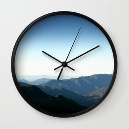 Los Padres National Forest Wall Clock