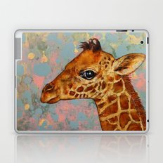 Baby Giraffe Laptop & iPad Skin