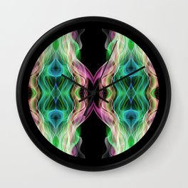 Cosmic butterfly Wall Clock