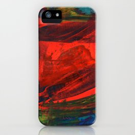 Strokes on Board Right iPhone Case