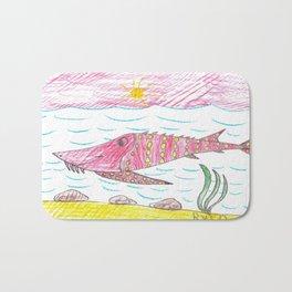 Tennessee Lake Sturgeon Bath Mat