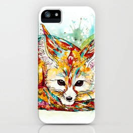 """You're So Foxy"" - Fennec Fox iPhone Case"