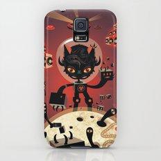 DJ Hammerhand cat - party at ogm garden Galaxy S5 Slim Case