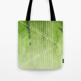 Disrupt - Green Tote Bag