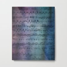 The Symphony Metal Print