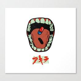 Akira Mouth Canvas Print