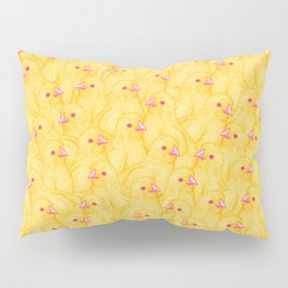 The Yellow Baby Chicks Club Pillow Sham