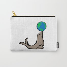 Seal World | Animal Series | DopeyArt Carry-All Pouch