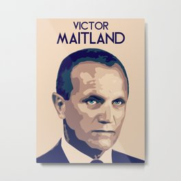 Victor Maitland Metal Print