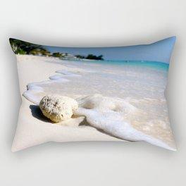 Sandy Shoreline Rectangular Pillow