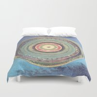 holiday Duvet Covers featuring Holiday by Laurie McCall