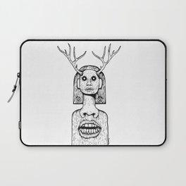 Deer Lady  Laptop Sleeve