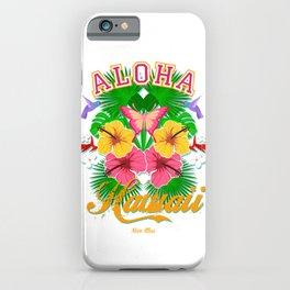 Aloha Hawaii iPhone Case