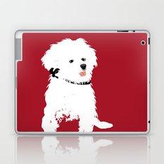 Bichon Frise Dog art Laptop & iPad Skin