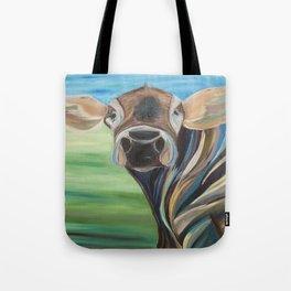 Cow Eyes Tote Bag