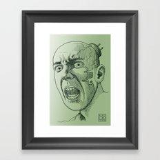 Techno Terror Framed Art Print