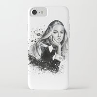 cara iPhone & iPod Cases featuring Cara by NZL Illustrations