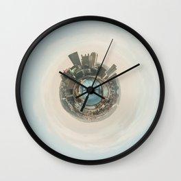 Pittsburgh Planet Wall Clock