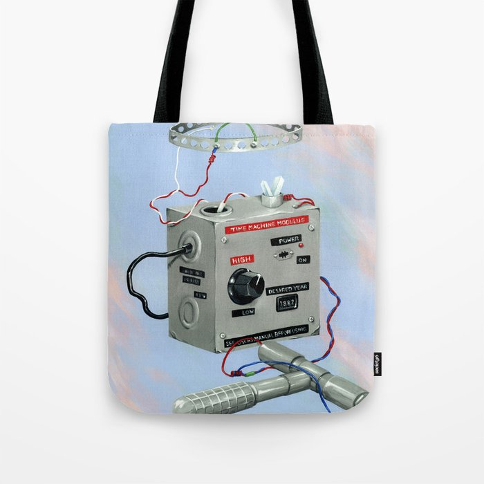 Uncle Rico's Time Machine Tote Bag