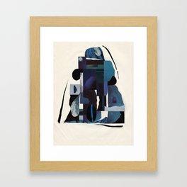 Blue Scale Framed Art Print
