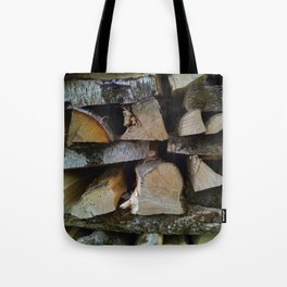 Woodpile Tote Bag