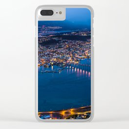Panoramic Tromso Clear iPhone Case