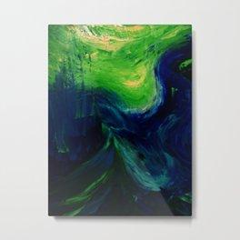 Abstract Hurricane by Robert S. Lee Metal Print