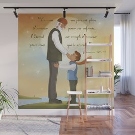 A father full of love Wall Mural