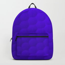 Purple Bubble Pattern Backpack