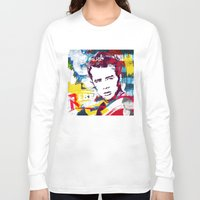 rebel Long Sleeve T-shirts featuring Rebel by Paky Gagliano