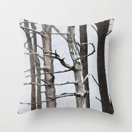 Tree life Part III Throw Pillow