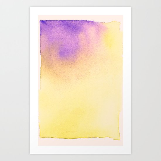 Watercolor c. Art Print