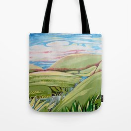 The green valley Tote Bag