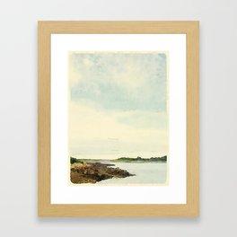 Cape Porpoise, Maine Framed Art Print