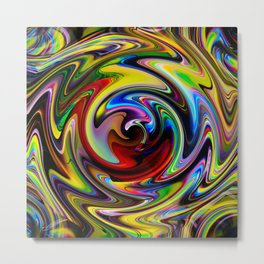 Abstract - Perfection 100 Metal Print