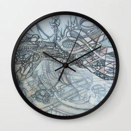 Cloud Refurbisher Wall Clock