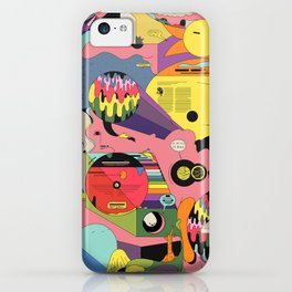 Climate Jazz iPhone Case