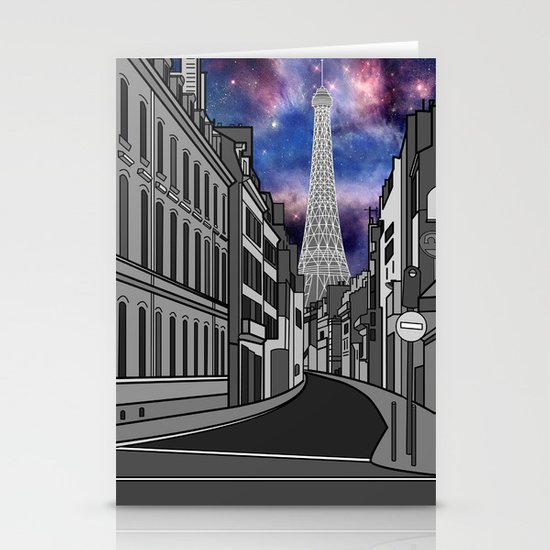 Paris: The Center of the Universe Stationery Cards