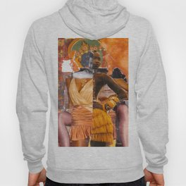 Hybridity, Race and Womanhood: Selves (Detail 5) Hoody