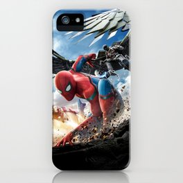spider man homecoming iPhone Case