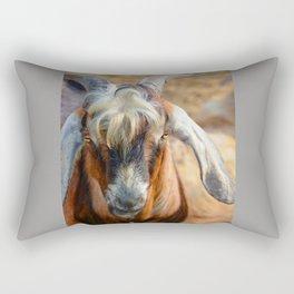 Billy Goat Rectangular Pillow