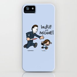 Laurie and Michael iPhone Case