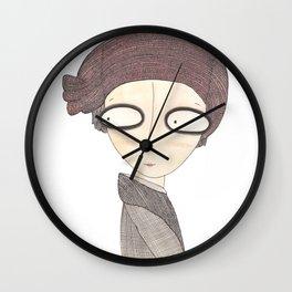 Le coquelicot Wall Clock