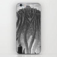 kraken iPhone & iPod Skins featuring KRAKEN by Kirk Pesigan