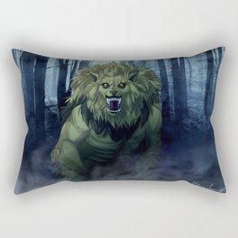 Werewolf Leo Rectangular Pillow