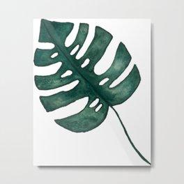 Montessori Leaf  Metal Print
